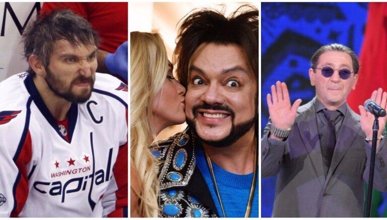 'Forbes': 10 ietekmīgākās Krievijas slavenības