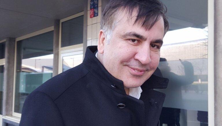 Саакашвили попросил разрешить ему въехать на Украину