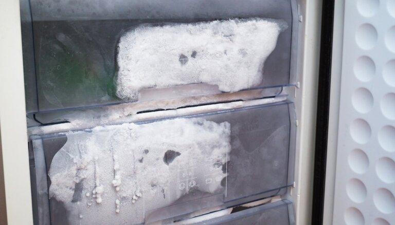 Krājas ūdens, smako un nesaldē: ledusskapja problēmas un risinājumi