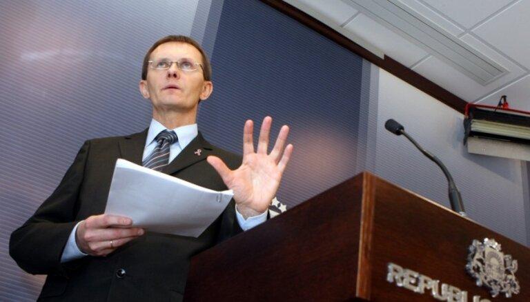 Vilks: no pozitīva lēmuma par Latvijas uzņemšanu eirozonā mūs šķir vairs tikai 76 dienas