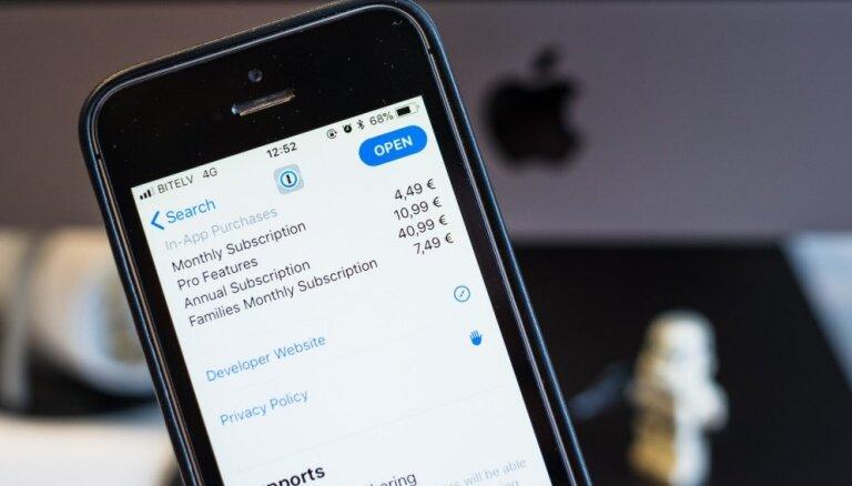 'Apple' vēlas lielāku peļņu, aktīvāk ieviešot lietotņu abonēšanu
