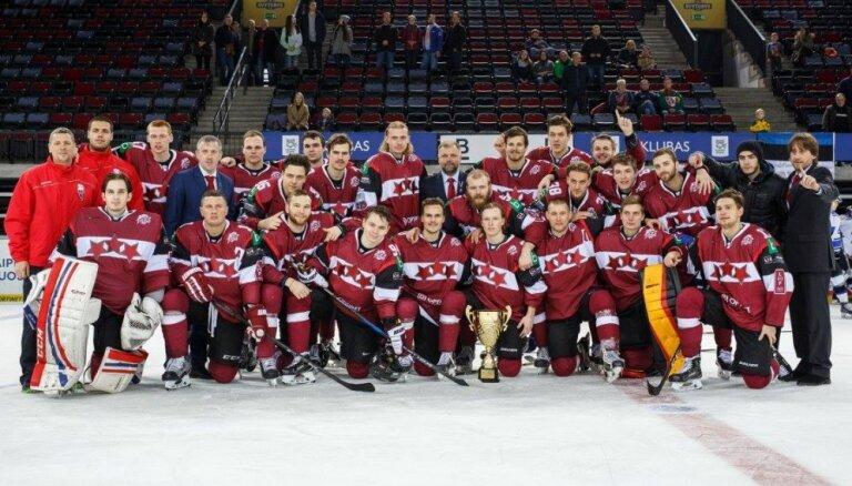 Latvijas klubu hokeja izlase novembrī Viļņā cīnīsies par 'Turkish Airlines Baltic Challenge Cup'