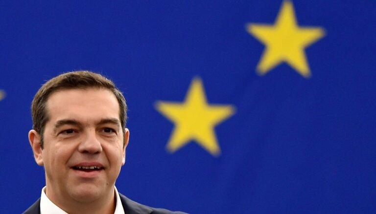 EP par Eiropas nākotni diskutē Grieķijas premjers Ciprs. Teksta tiešraides arhīvs