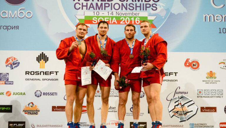 Виктор Решко — двукратный призер чемпионата мира по самбо