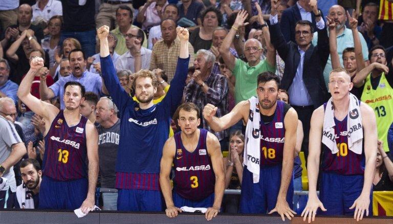 Šmits ar 'Barcelona Lassa' piekāpjas Spānijas finālsērijā