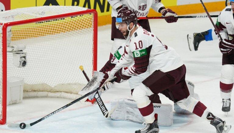 Nosaukti trīs labākie spēlētāji Latvijas izlasē pasaules čempionātā