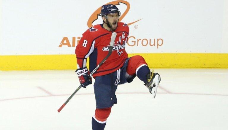 """НХЛ: """"Вашингтон"""" впервые проиграл матч, в котором Овечкин сделал хет-трик"""
