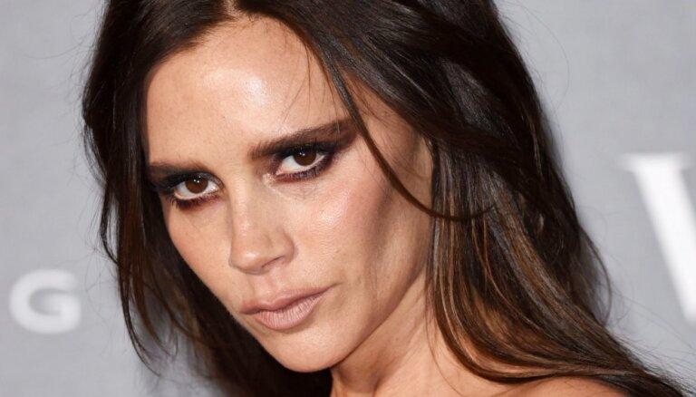 ФОТО: Виктория Бекхэм вышла в свет с пугающим макияжем