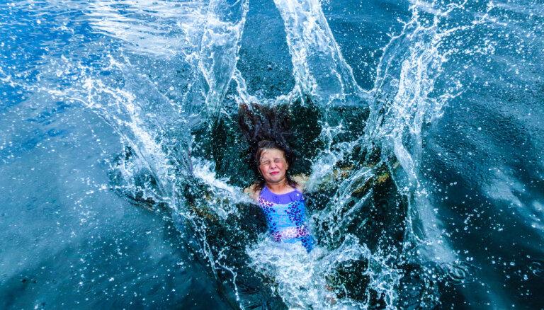 Температура воды в латвийских водоемах повторяет рекорды 1947 года