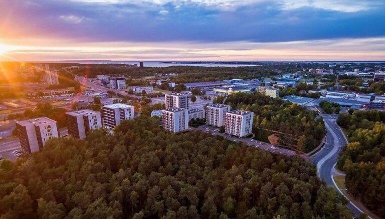 300 dzīvokļi: Tallinā cels jaunu dzīvojamo rajonu