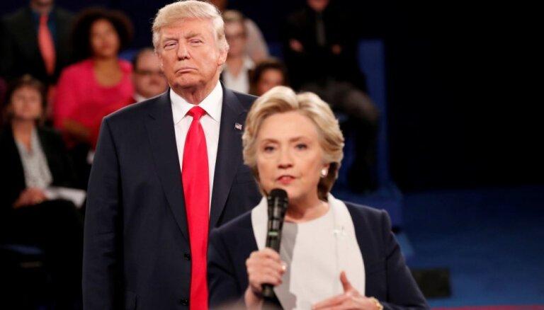Klintones kampaņa apmaksājusi kompromitējošo pētījumu par Trampu
