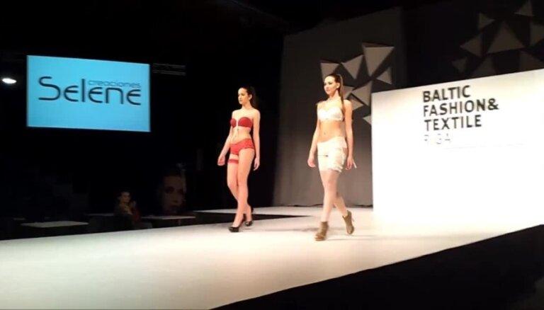Sieviešu apakšveļas modes skate izstādē 'Baltic Fashion & Textile'