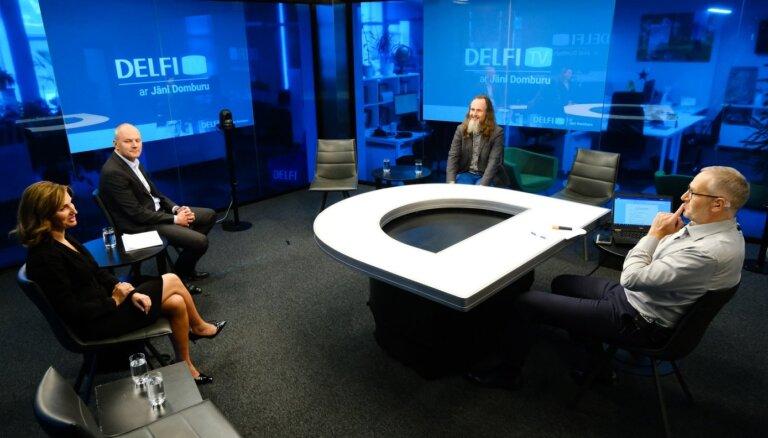 'Delfi TV ar Jāni Domburu' diskusija 'Kas notiek ar 'Olainfarm' un kam tas piederēs?' Pilns ieraksts