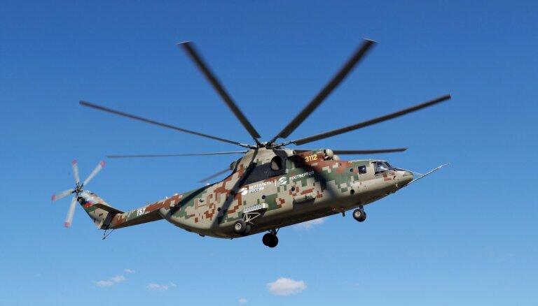Krievija un Turcija plāno sadarboties helikopteru būvniecībā