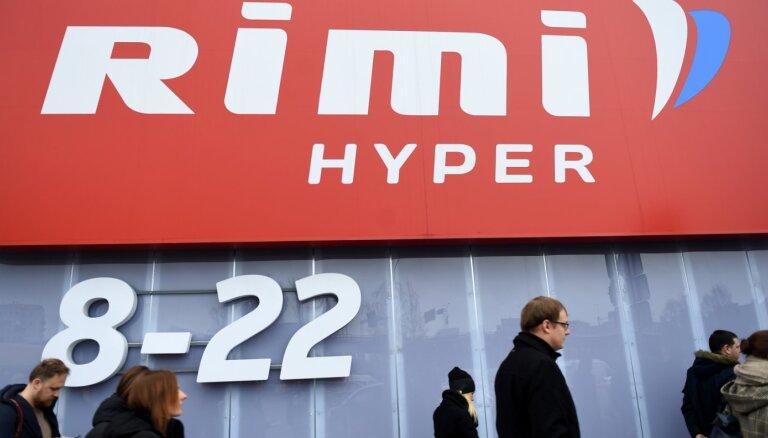 Продажи сети Rimi в Латвии показали минимальный рост