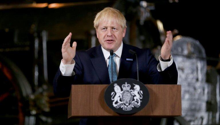 Džonsons nāk klajā ar jauniem plāniem cīņai pret noziedzību Lielbritānijā