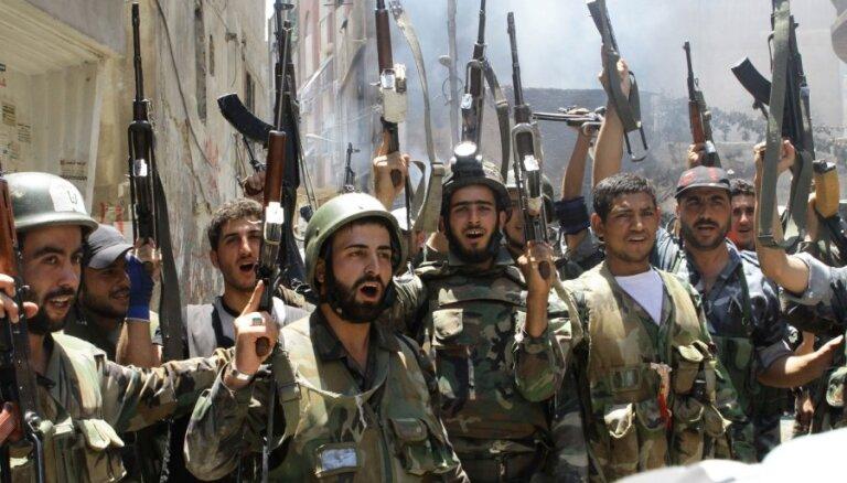 Сирийский конфликт: бои идут в Дамаске и Алеппо
