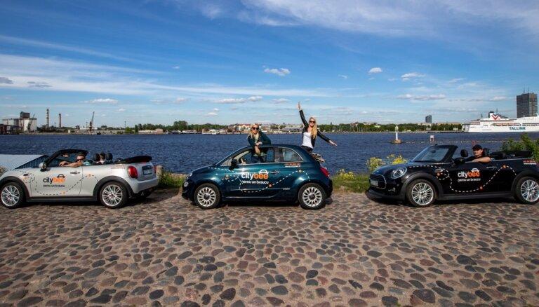 'CityBee' paplašina autoparku ar 'Fiat' un 'Mini Cooper' kabrioletiem
