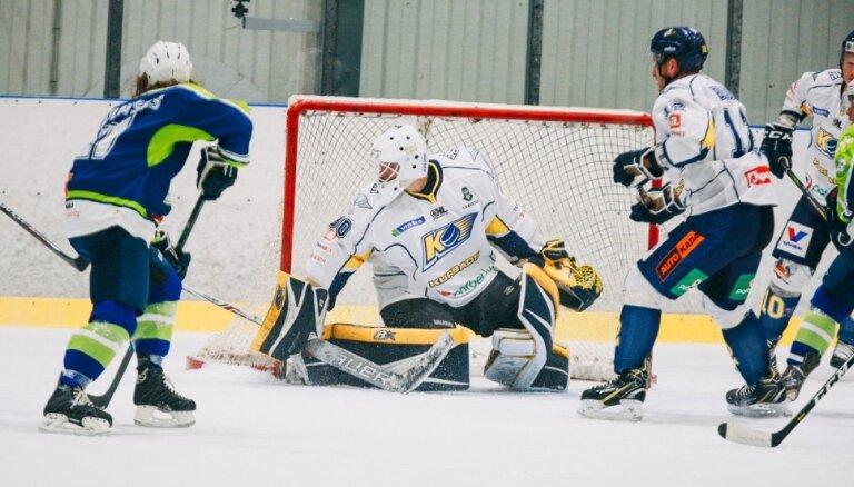 'Kurbada' hokejisti pagarinājumā uzvar OHL līderi 'Mogo'