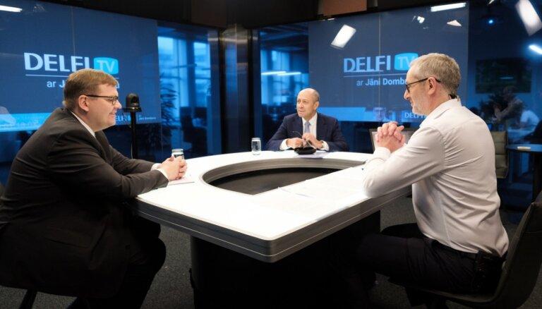'Delfi TV ar Jāni Domburu' diskusija 'Vai Rīgas dome jāatlaiž?' Pilns ieraksts