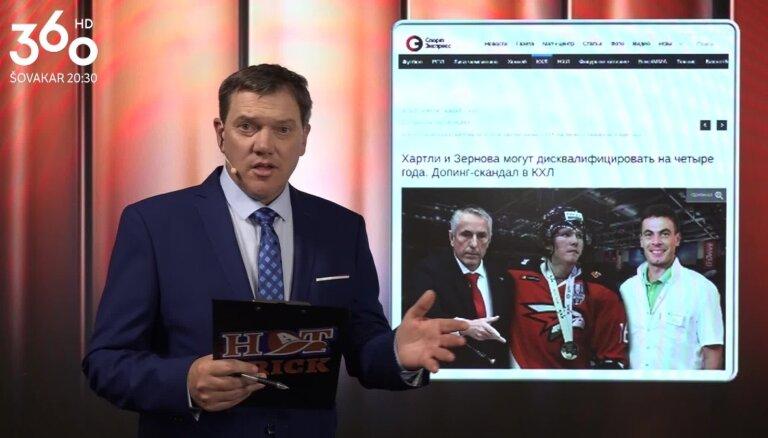 Video: Puče skaidro, kāpēc Krievijas dopinga kontrolētāji varētu ierādīt vietu Hārtlijam