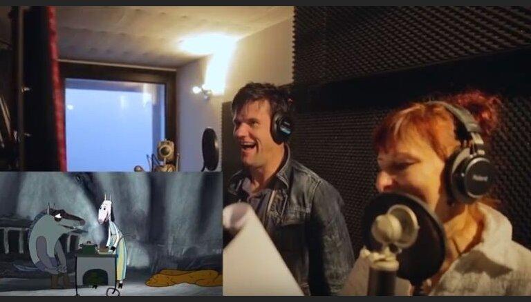 Noskaties! Populāri aktieri ierunā animācijas filmas 'Saule brauca debesīs' varoņus