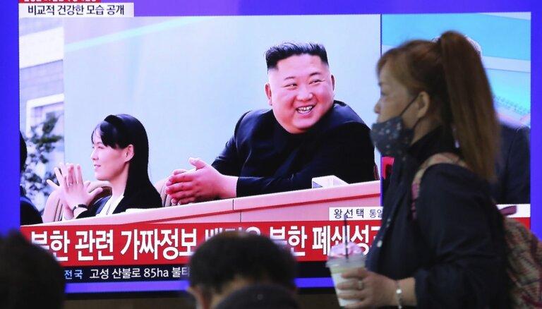 Nav pazīmju, ka Kimam veikta sirds operācija, ziņo Dienvidkoreja