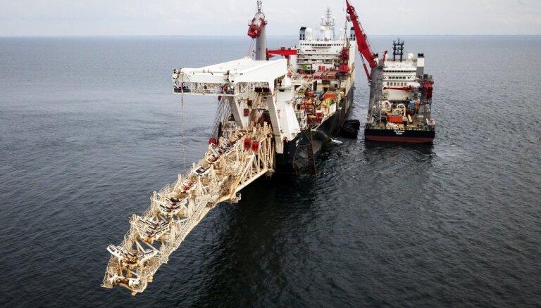 ASV brīdina 'Nord Stream 2' projektā iesaistītās kompānijas par iespējamām sankcijām