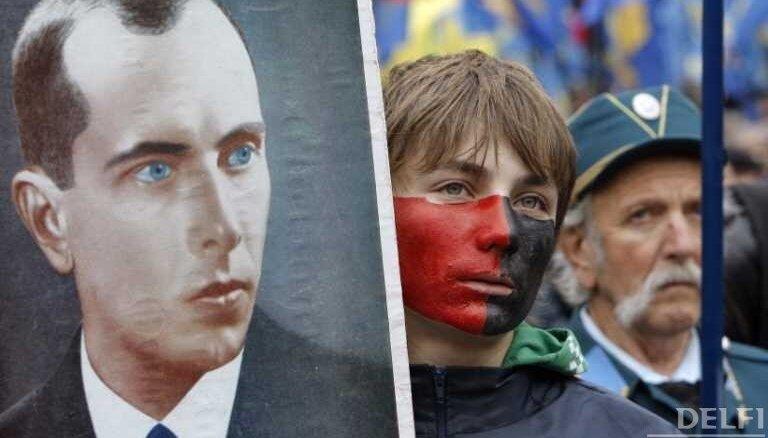 В день рождения Бандеры украинские националисты провели крупную акцию