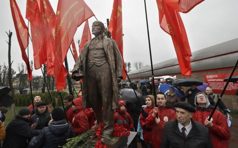 Картинки по запросу Минск отметил 7 ноября открытием памятника Ленину картинки