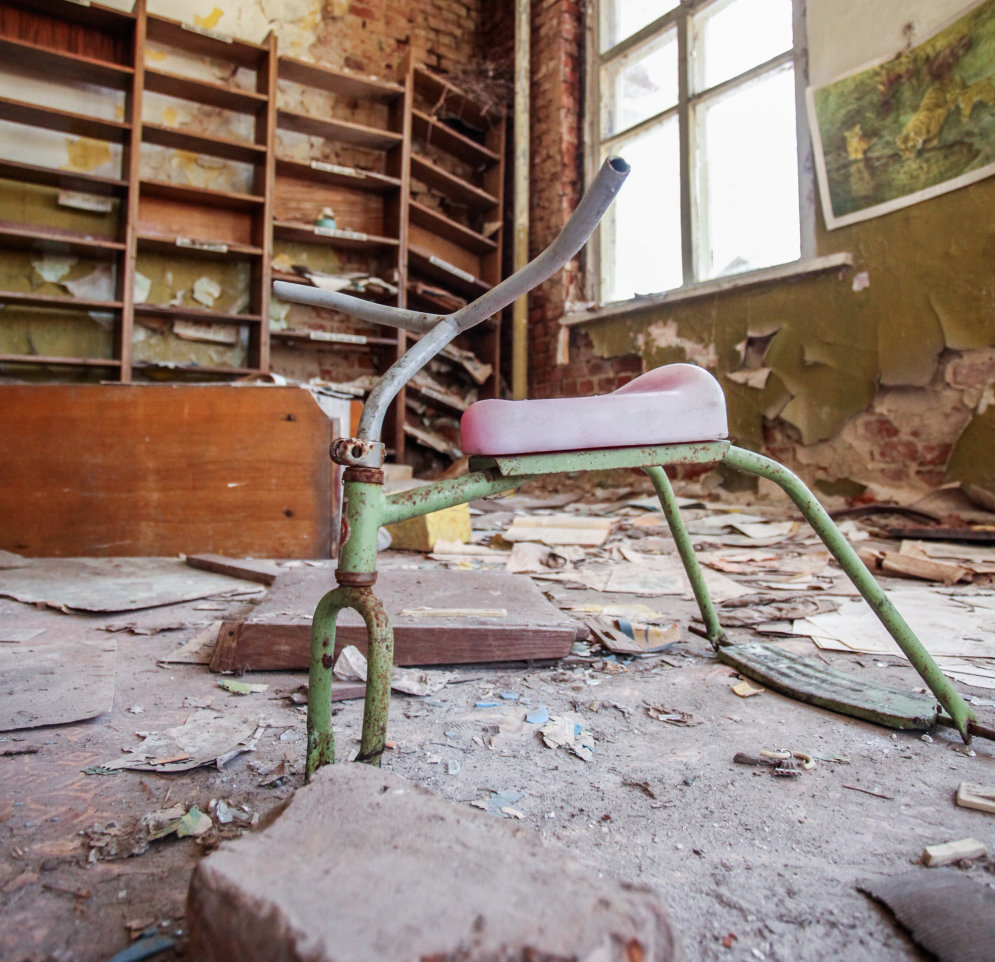 Tūristu postītā ainava Černobiļā – viltotā 'Instagram' realitāte