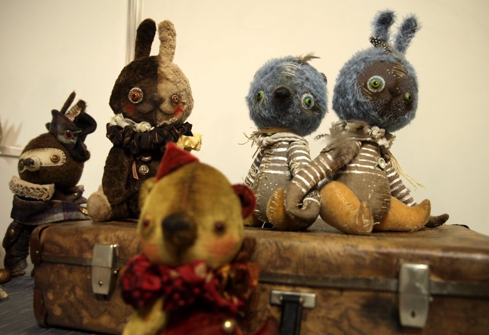 В Железнодорожном музее — безумно крутая выставка кукол