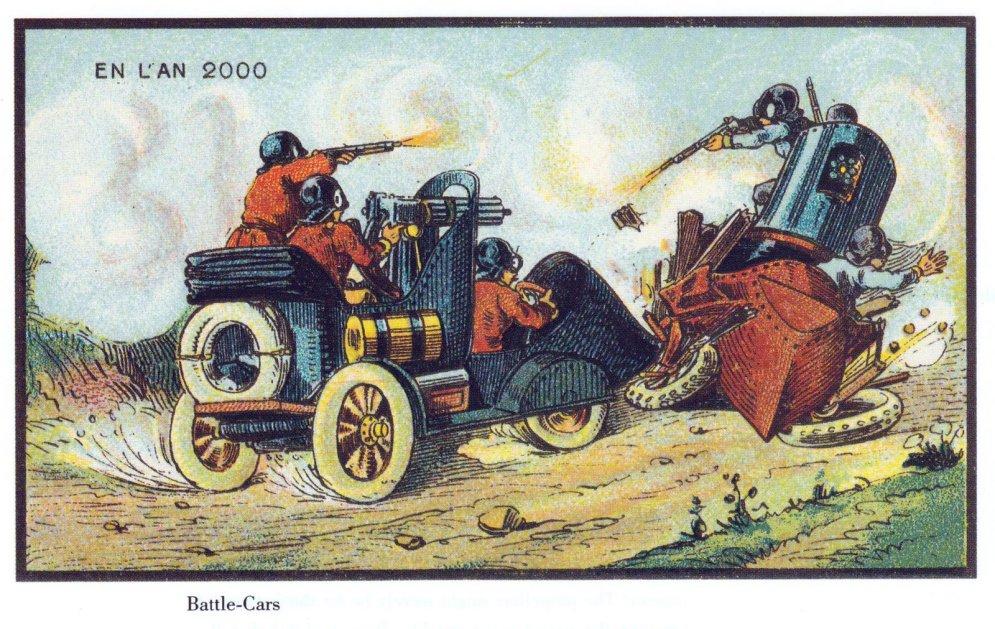 Как люди 100 лет назад представляли себе будущее — 15 картинок