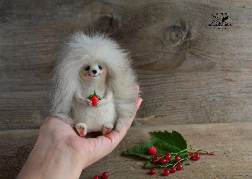 ФОТО: 18 супер-милых шерстяных игрушек авторства российской художницы