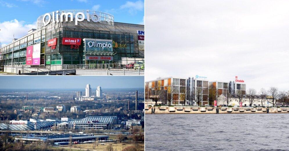 Газета: Riga Plaza хотят купить инвесторы из России