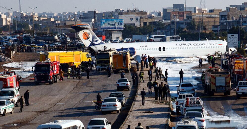 Пассажирский самолет потерпел крушение в Афганистане