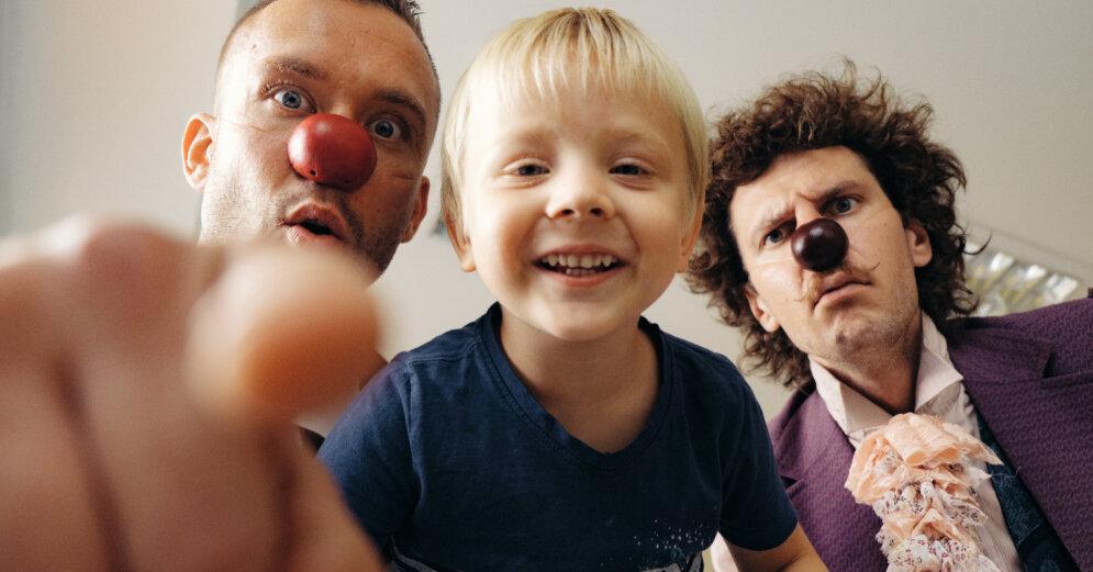 Доктора-клоуны отмечают свой пятилетний юбилей и приглашают всех принять участие в благотворительной кампании