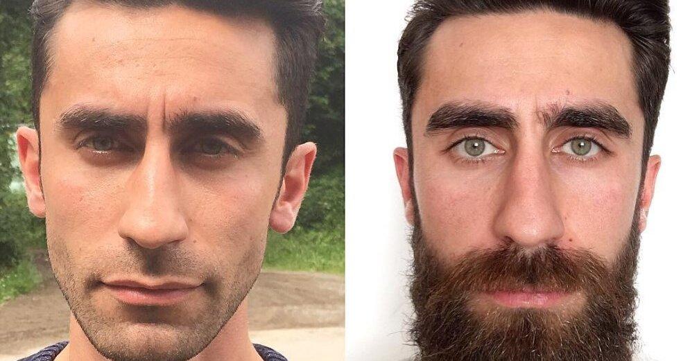 усы до и после картинки пишет