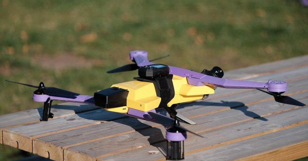 ФОТО: Разработанные в Латвии дроны уже направлены первым покупателям