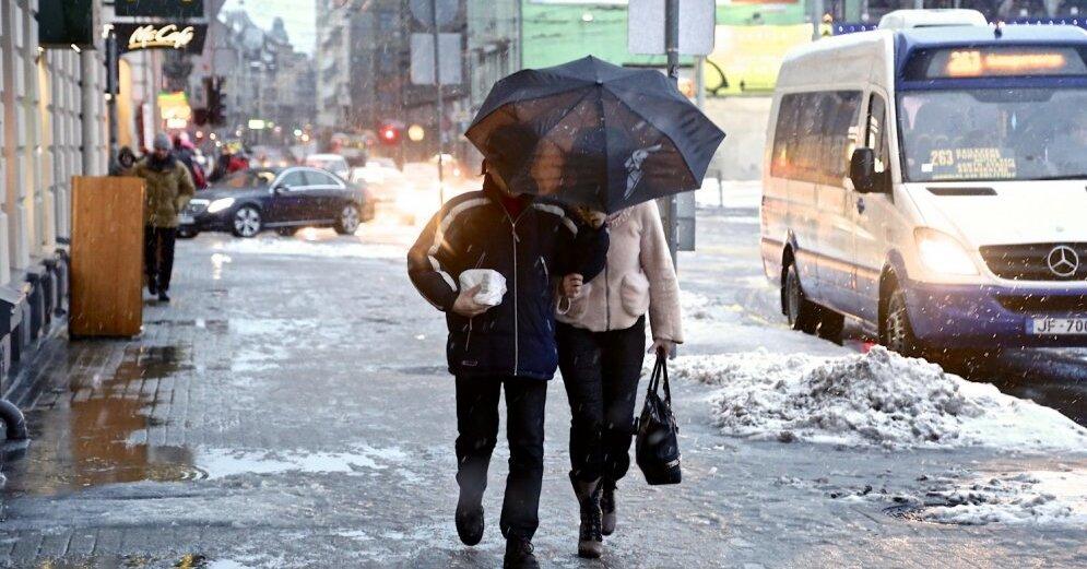 Прогноз погоды в Даугавпилсе: дождь, снег, ветер 1