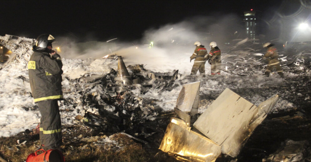 Следствие назвало причины авиакатастрофы самолета Boeing в Казани в 2013 году