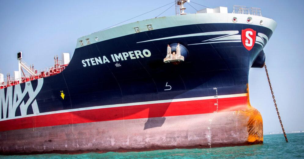 Иран освободил британский нефтяной танкер Stena Impero