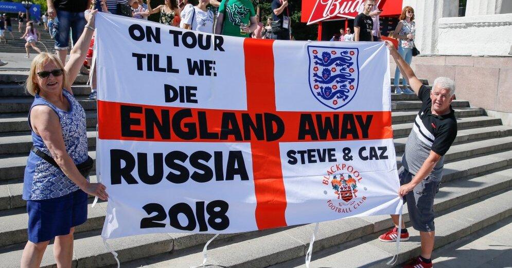 Прямая трансляция стартовых матчей Англии и Бельгии на ЧМ-2018 по футболу