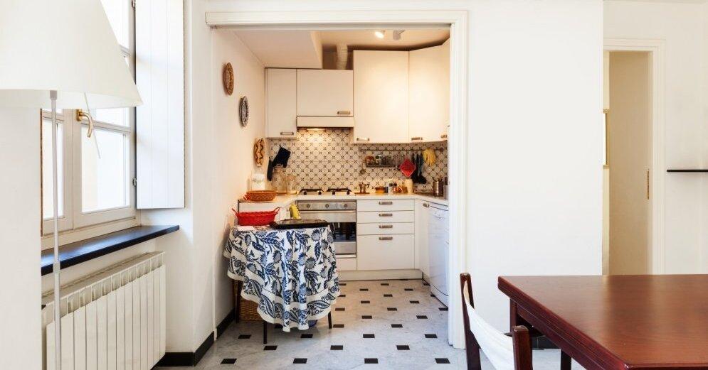 Aur ba virtuv k gudri un gaum gi izmantot mazos sienas for Decoracion minidepartamento