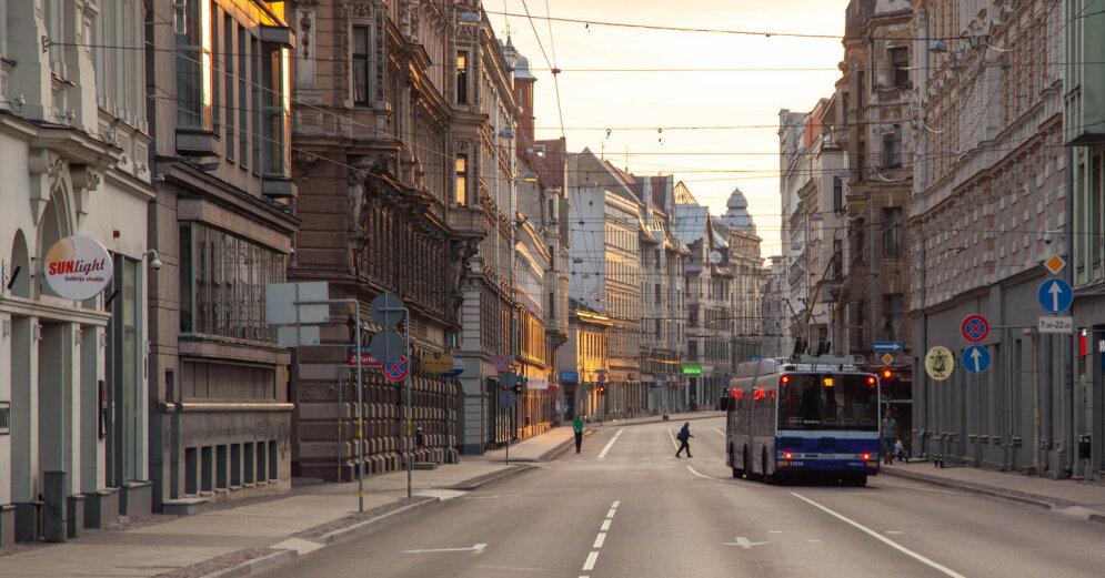В Риге исчезнут нерегулируемые пешеходные переходы на больших улицах