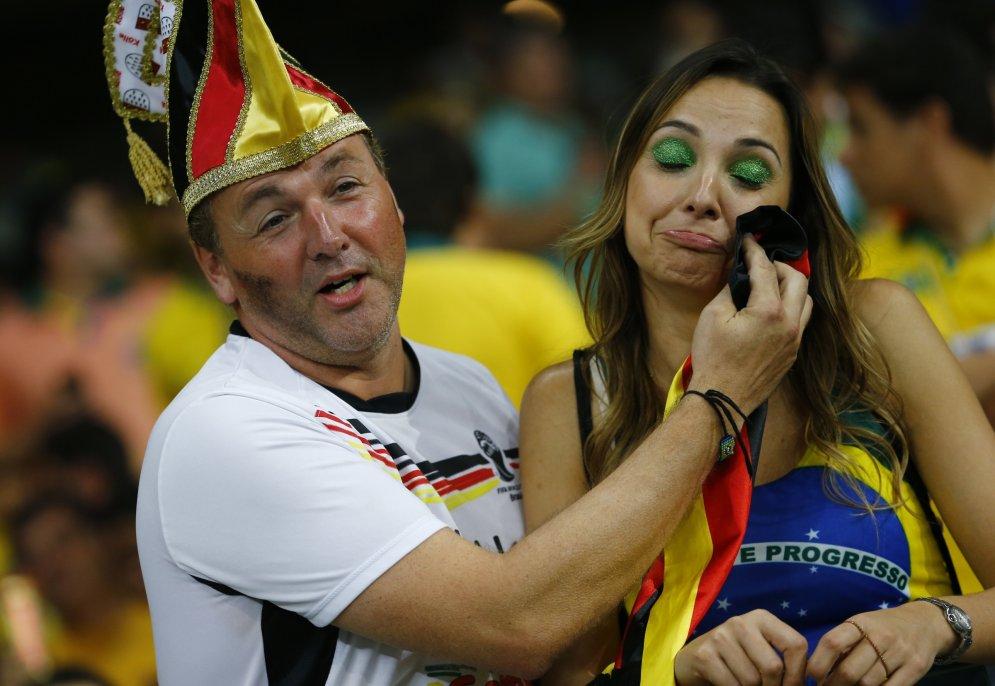 Самые сексуальные болельщики бразили