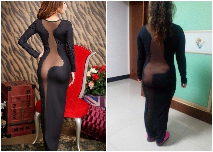 Iespējams, lielākā izgāšanās, pērkot seksīgu kleitu