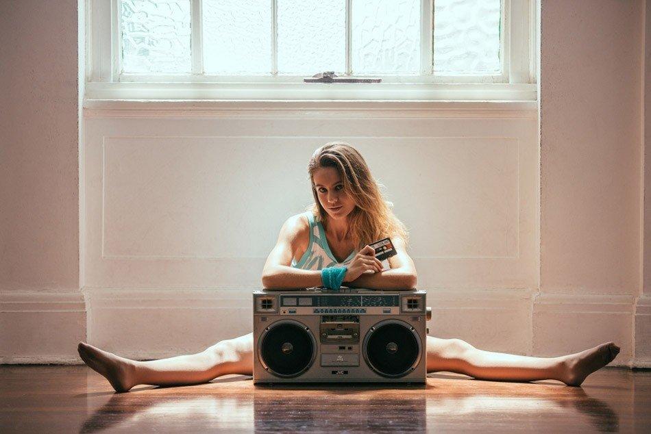 Fotogrāfs parāda, ka pasaulē nav nekā skaistāka par aerobiku