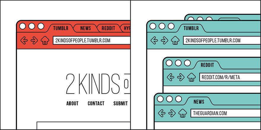 15 КАРТИНОК про то, что в мире есть всего два типа людей. К какому принадлежишь ты?