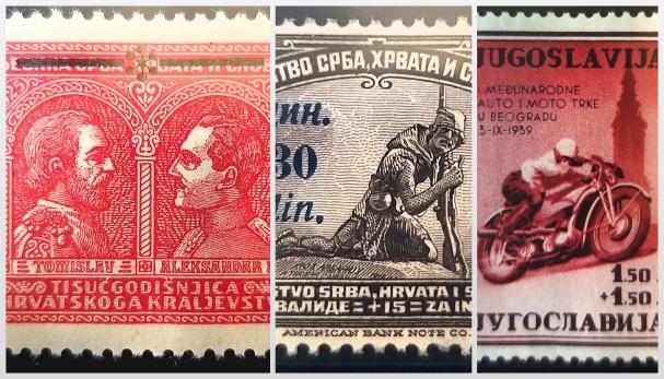 Dienvidslāvijas pastmarkas